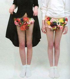 flower undies