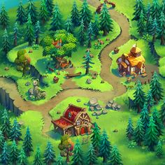 https://www.behance.net/gallery/30119375/Fairy-Mix-Game-Art