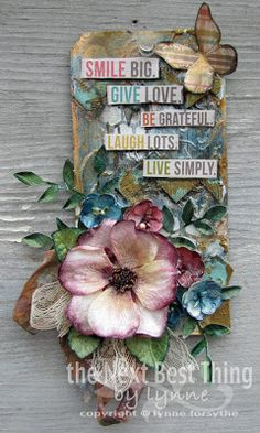 the next best thing by lynne: SMILE Canvas with Petaloo and Simple Stories