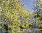 Bend in the River Epte by Claude Monet