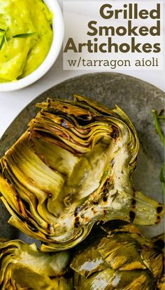 Learn how to make artichokes in an Instant Pot with this simple, easy recipe. Put the steamed artichokes on the grill for char. Great with a lemon tarragon aioli dipping sauce too. This appetizer is perfect for anniversaries. #artichokes #aiolidippingsauce Artichoke Recipes, Vegan Appetizers, Great Appetizers, Appetizer Recipes, Veggie Recipes Healthy, Vegetarian Recipes, Eating Vegetables, Potato Side Dishes