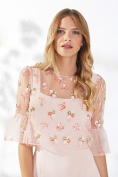 Demelza Dress And Overtop Demelza, Spring Summer 2018, Types Of Sleeves, Floral Tops, Fabric, Pattern, Dresses, Women, Fashion