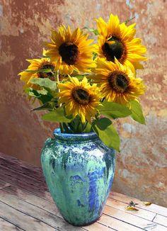 Tote Bag - Sunflowers in Vase by VIDA VIDA 9WqdSqwPhD