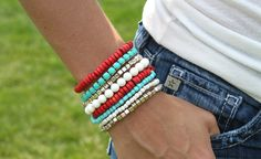 Boho Stack Bracelets - 5 Colors!