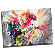 Tablou living modern - Cantec pentru pian pentru amenajari originale, care va transmite in orice incapere dragoste pentru viata, culori si muzica. Comanda online tablou living modern 70 x 50 cm pe aa-design-interior.ro.