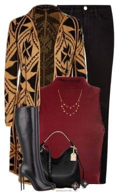 """""""Aztec Print"""" by houston555-396 ❤ liked on Polyvore featuring mode, Frame Denim, City Chic, Glamorous, Reed Krakoff, Christian Louboutin, Lana et Tory Burch"""