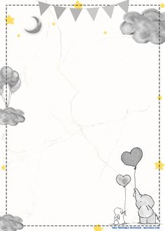 There are endless ways to lit up the artistry level in your party invitations! In fact, you can customize every detail of your invitation layout. The essential part of invitations is to deliver your message toward your guests that you are going to ge Free Birthday Invitation Templates, Baby Shower Invitations, Disney Invitations, Free Wallpaper Backgrounds, Cute Wallpapers, Dibujos Baby Shower, Decorating Toddler Girls Room, Flower Graphic Design, Baby Icon