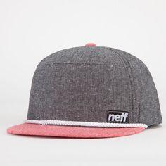 NEFF Rip Chord Mens Snapback Hat 216504126   Snapbacks   Tillys.com
