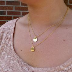 DIY Delicate Layered Necklace