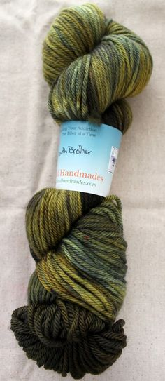 Highland Handmades — South Brother - Green Ash Worsted