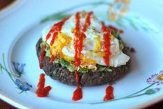 Sriracha Black Bean Burgers recipe | Food and Nutrition Magazine | Stone Soup Blog