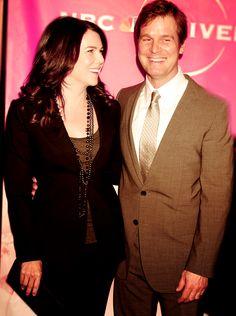 Lauren Graham & Peter Krause