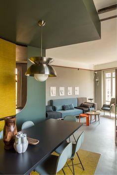 Interior Design Boards, Modern Interior Design, Interior Architecture, Bauhaus Interior, Design Interiors, Contemporary Architecture, Luxury Interior, Appartement Design, Deco Design