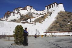 Potala Palace ﴾Lhasa, China﴿ A Tibetan artistic and architectural marvel, this UNESCO World Heritage Site used to be the chief residence of the Dalai Lama until the 14th Dalai Lama had to flee to India during the 1959 Tibetan uprising. It's one of the highest buildings in the world at 12,000 ft ﴾3,700 m﴿. Visitors should acclimatize to high altitude environments before going ther