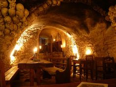 Funny pictures about Awesome Medieval Tavern in Prague. Oh, and cool pics about Awesome Medieval Tavern in Prague. Also, Awesome Medieval Tavern in Prague photos. Oh The Places You'll Go, Places To Travel, Restaurant Hotel, Rustic Restaurant, Old Pub, Prague Travel, Prague Czech Republic, Prague Castle, European Vacation
