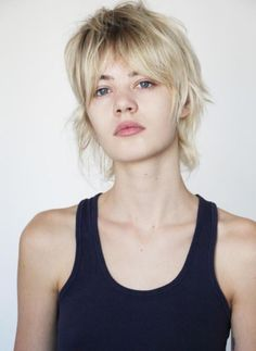 Today we have the most stylish 86 Cute Short Pixie Haircuts. Pixie haircut, of course, offers a lot of options for the hair of the ladies'… Continue Reading → Mullet Haircut, Mullet Hairstyle, Party Hairstyle, Short Shag Hairstyles, Pretty Hairstyles, Modern Mullet, Short Mullet, Medium Hair Styles, Curly Hair Styles