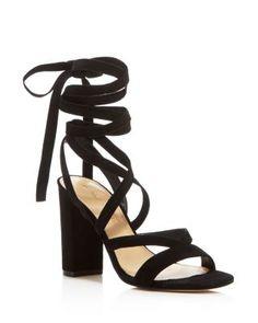 IVANKA TRUMP Kieran Lace Up Sandals   Bloomingdale's