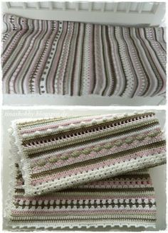 Crochet Along Babydecke von Bettina