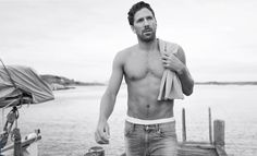 Henrik Lundqvist, Swedish bundle of handsome.... and NY Rangers goalie