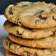 A Little Bit of This, That, and Everything: The Very Best Chocolate Chip Cookies EVER