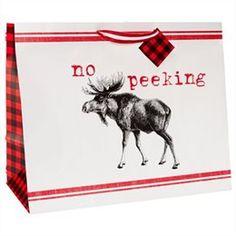 Jumbo No Peeking Gift Bag