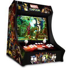bartop arcade | Bartop Arcade Machines Diy Arcade Cabinet, Arcade Console, Arcade Bartop, Mini Arcade, Arcade Machine, Diy Cabinets, Arcade Games, Raspberry, Video Games