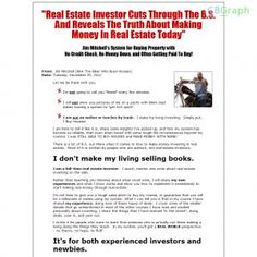 """E-book Teaches The """"subject To"""" Method Of Real Estate Investing. Plus Other Products On The Back End. See more! : http://get-now.natantoday.com/lp.php?target=allrei"""