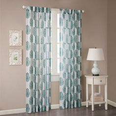 Madison Park Emerson Arabesque Curtain Panel | Overstock™ Shopping - Great Deals on Madison Park Curtains