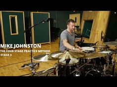 Meinl Cymbals Mike Johnston Four Stage Practice Method Stage Three How To Play Drums, Double Bass, Music School, Clarinet, Classical Music, Choir, Orchestra, Stage, Instruments