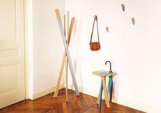 Tony Balmé - Collection de mobiliers élaborés avec soin et simplicité dans un atelier partagé lyonnais. Il dessine et réalise ses pièces lui-même dans une démarche d'expérimentation par la matière grâce à des prototypes, des maquettes, etc.