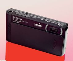 Sony Cyber-Shot TX30. shock- and water-resistant point-and-shoot, slim and discreet, 18.2 megapixels, HD video, 5x optical zoom, $260, store.sony.com.