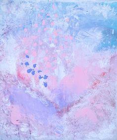 55 cm x 46 cm | Martina Uthardt Framed Fabric, Framed Prints, Amethyst, Soap, Texture, Crystals, Artist, Handmade, Crafts