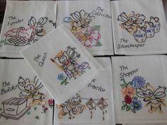 #Bees Days of Week Dish Towels & Honey, yumm! $69.95