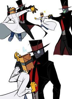 Black Hat and Flug performing a fusion dance! *u*... - AceCake