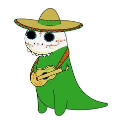 Mexican dinosaur!