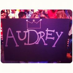 We love AUDREY!! #EmergeSMU !