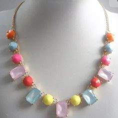 Colorful bohemian style necklace Colorful bohemian style necklace Jewelry Necklaces