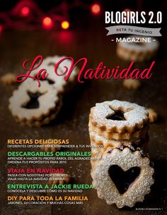 La Natividad - MAGAZINE #1  Revista en colaboración, BLOGIRLS 2.0 Magazine; un proyecto de mentes creativas para compartir, un grupo donde encontrarás cosas que van mucho más allá del mundo blog, cosas sobre varias facetas de la vida. #blogirlsNavidad #blogirlsdospuntocero Navidad Diy, Christmas Inspiration, Cereal, Muffin, About Me Blog, Magazine, Breakfast, How To Make, Handmade