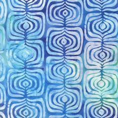 Check out the deal on Bali Batik Fabric, Pop Art Collection: Blue at artisticartifacts.com