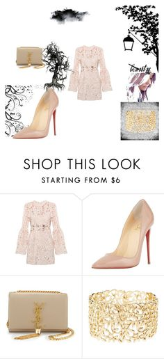 """Untitled #51"" by brandy-carringer ❤ liked on Polyvore featuring Christian Louboutin, Yves Saint Laurent and Charlotte Russe"