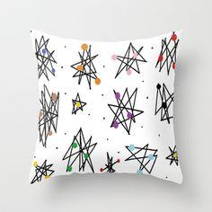 Retropolis 4 Throw Pillow by SKCreations, LLC - $20.00