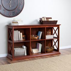Belham Living Hampton Console Table in Cherry - If you're looking for great style that you won't find anywhere else, then The Hampton Console Table in Cherry is exactly what you want. It has a clean...