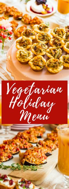 Perfect for entertaining in a small space, this appetizer style menu is rich in flavor and an easy way to serve your guests this holiday! Table For Small Space, Crescent Roll Dough, Potato Vegetable, Mini Muffin Pan, Green Bean Casserole, Creamed Mushrooms, Bite Size, Healthy Recipes, Sweets Recipes