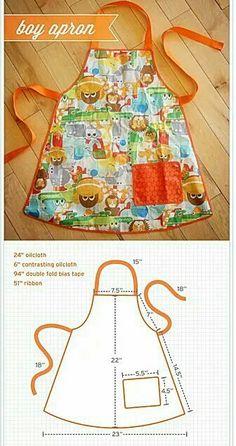 boy apron