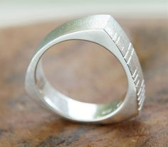 Buy Ogham Ring-Gents on your Irish Jewelry eshop Old Irish, Irish Celtic, Irish Jewelry, Jewelry Crafts, Rings For Men, Wedding Rings, Jewels, Engagement Rings, Stone