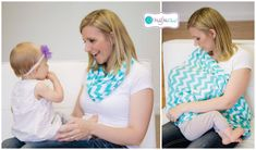 One minute it's a scarf, the next it's a practical cover to hide your exploding boobs as you feed a hungry little one.  Sorted!