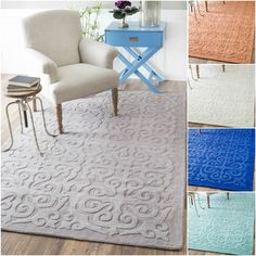 Bring Style And Elegance Into Your Room Setting With This Rug Is Handmade Wool Features A Durable Plush Pile Suitable For High
