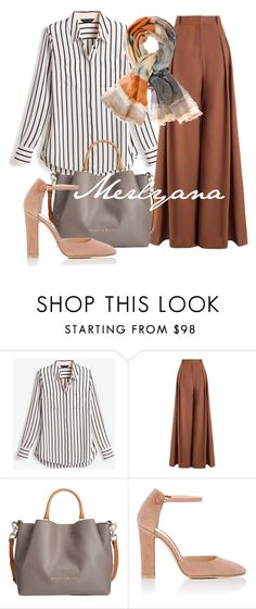"""""""076"""" by merlyana-dwi-hapsari on Polyvore featuring White House Black Market, Zimmermann, Dooney & Bourke, Gianvito Rossi and Chico's"""