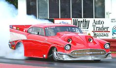 Bob Rieger is testing the most outrageous turbocharged car in drag racing history. Photo by Brian Wood