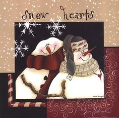 Snow Hearts by Bonnee Berry